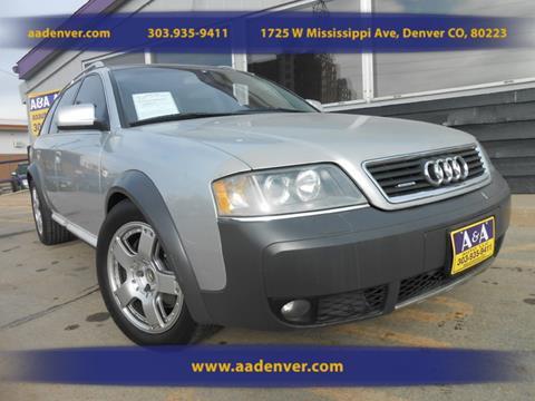 2001 Audi Allroad Quattro for sale in Denver, CO