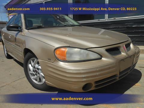 2001 Pontiac Grand Am for sale in Denver, CO