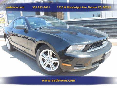 2010 Ford Mustang for sale in Denver, CO