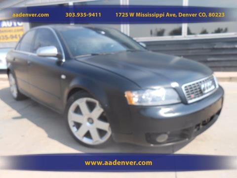 2005 Audi S4 for sale in Denver, CO