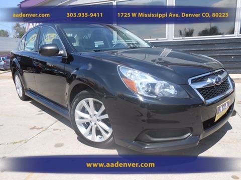 2013 Subaru Legacy for sale in Denver, CO