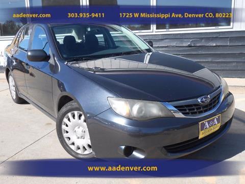 2008 Subaru Impreza for sale in Denver, CO