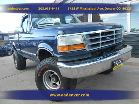1995 Ford F-150 for sale in Denver, CO