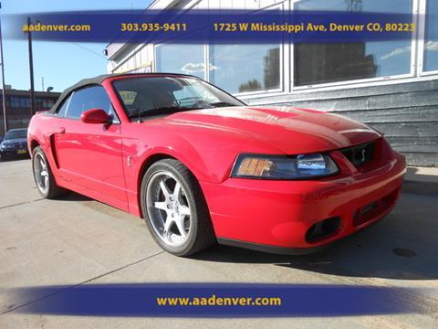 2003 Ford Mustang SVT Cobra for sale in Denver, CO