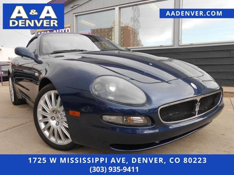 2002 Maserati Spyder for sale in Denver, CO