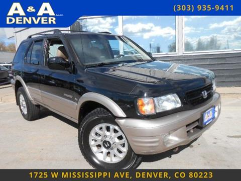 2002 Honda Passport for sale in Denver, CO