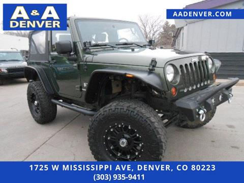 2008 Jeep Wrangler for sale in Denver, CO