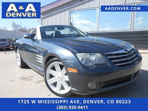 2006 Chrysler Crossfire for sale in Denver, CO