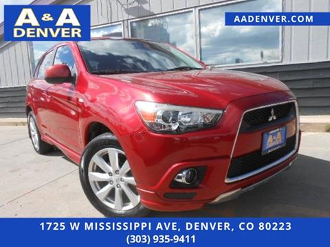 2012 Mitsubishi Outlander Sport for sale in Denver, CO