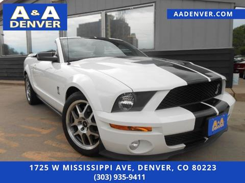2007 Ford Shelby GT500 for sale in Denver, CO