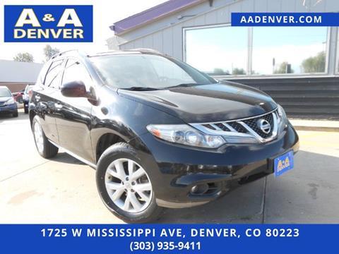 2012 Nissan Murano for sale in Denver, CO
