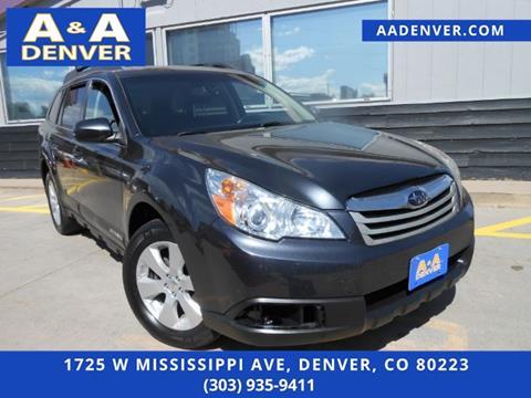 Used Subaru Denver >> Subaru Used Cars For Sale Denver A A Auto Llc