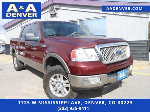 2004 Ford F-150 for sale in Denver, CO