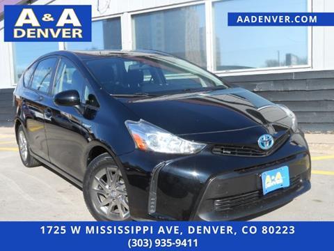 2016 Toyota Prius v for sale in Denver, CO