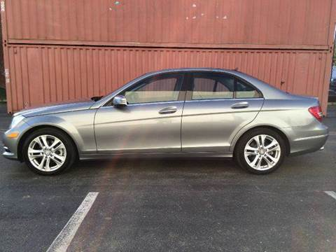 2012 Mercedes-Benz C-Class for sale at AVAZI AUTO GROUP LLC in Gaithersburg MD