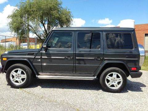 2004 Mercedes-Benz G-Class for sale at AVAZI AUTO GROUP LLC in Gaithersburg MD