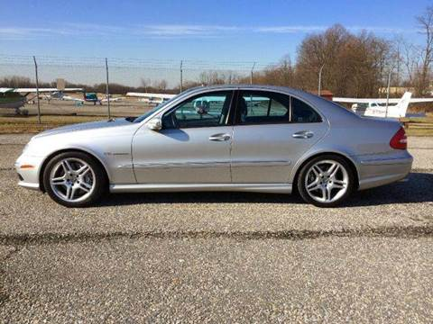 2003 Mercedes-Benz E-Class for sale at AVAZI AUTO GROUP LLC in Gaithersburg MD