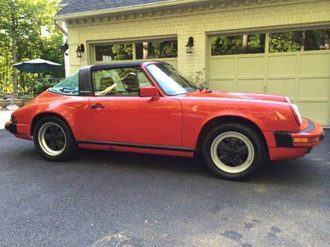 1988 Porsche 911 for sale at AVAZI AUTO GROUP LLC in Gaithersburg MD