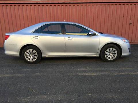 2012 Toyota Camry for sale at AVAZI AUTO GROUP LLC in Gaithersburg MD