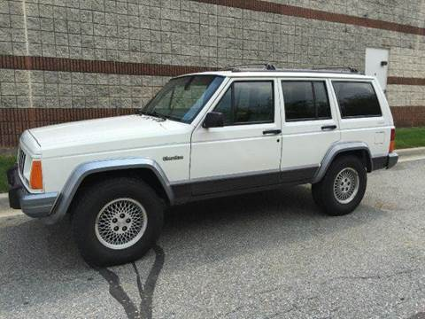 1996 Jeep Cherokee for sale at AVAZI AUTO GROUP LLC in Gaithersburg MD
