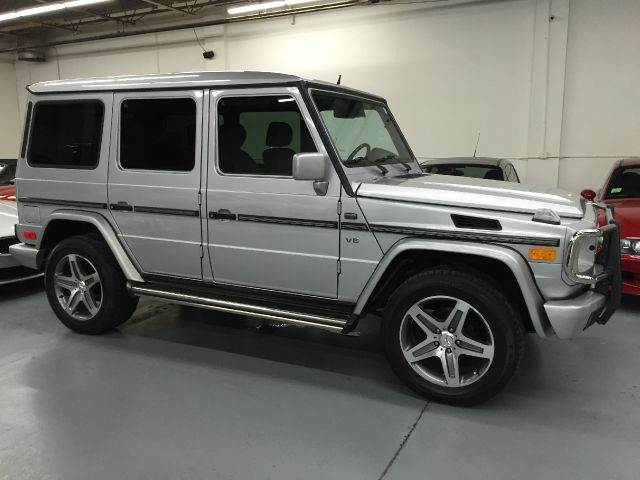 2002 Mercedes-Benz G-Class G500 AWD 4MATIC 4dr SUV In