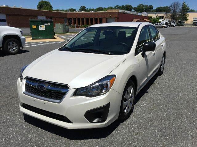 2014 Subaru Impreza for sale at AVAZI AUTO GROUP LLC in Gaithersburg MD