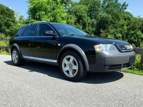 2001 Audi Allroad Quattro for sale at AVAZI AUTO GROUP LLC in Gaithersburg MD