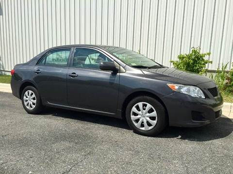 2009 Toyota Corolla for sale at AVAZI AUTO GROUP LLC in Gaithersburg MD