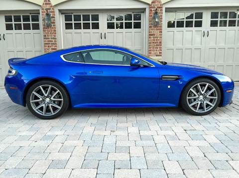2012 Aston Martin V8 Vantage for sale at AVAZI AUTO GROUP LLC in Gaithersburg MD