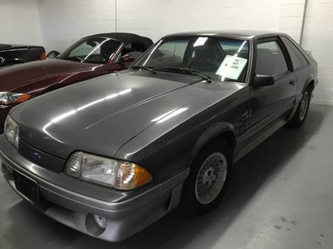 1987 Ford Mustang for sale at AVAZI AUTO GROUP LLC in Gaithersburg MD