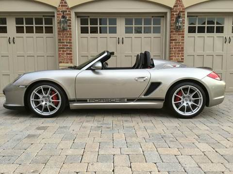 2012 Porsche Boxster for sale at AVAZI AUTO GROUP LLC in Gaithersburg MD