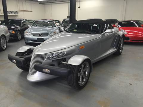 2002 Chrysler Prowler for sale at AVAZI AUTO GROUP LLC in Gaithersburg MD
