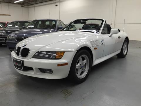 1996 BMW Z3 for sale at AVAZI AUTO GROUP LLC in Gaithersburg MD