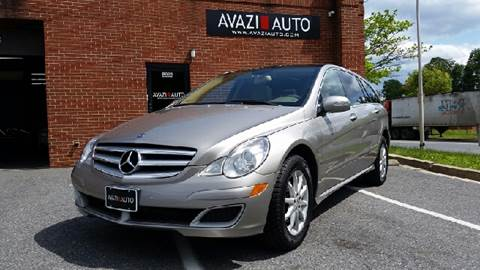 2007 Mercedes-Benz R-Class for sale at AVAZI AUTO GROUP LLC in Gaithersburg MD