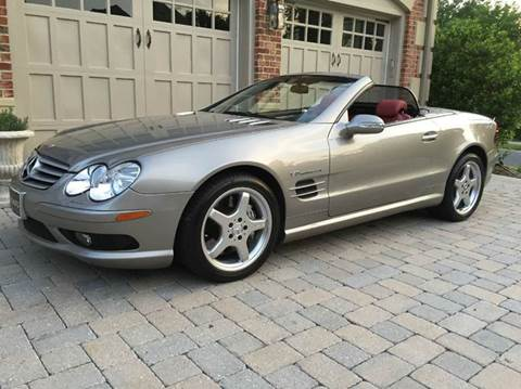 2003 Mercedes-Benz SL-Class for sale at AVAZI AUTO GROUP LLC in Gaithersburg MD