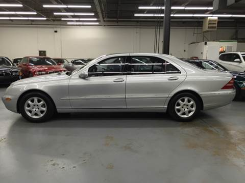 2002 Mercedes-Benz S-Class for sale at AVAZI AUTO GROUP LLC in Gaithersburg MD