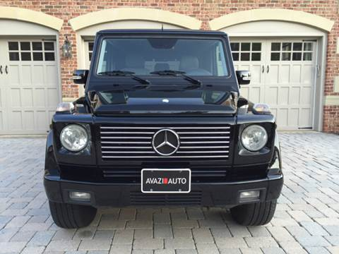 2006 Mercedes-Benz G-Class for sale at AVAZI AUTO GROUP LLC in Gaithersburg MD
