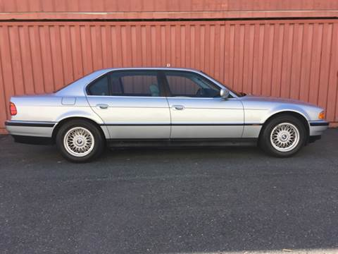 1998 BMW 7 Series for sale at AVAZI AUTO GROUP LLC in Gaithersburg MD