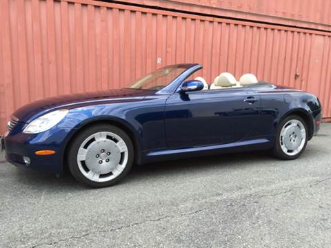 2003 Lexus SC 430 for sale at AVAZI AUTO GROUP LLC in Gaithersburg MD