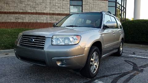2006 Subaru Forester for sale at AVAZI AUTO GROUP LLC in Gaithersburg MD