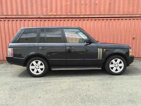 2004 Land Rover Range Rover for sale at AVAZI AUTO GROUP LLC in Gaithersburg MD
