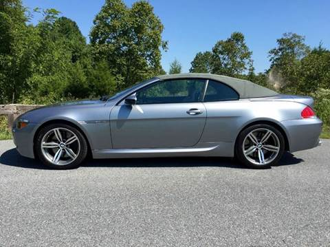 2007 BMW M6 for sale at AVAZI AUTO GROUP LLC in Gaithersburg MD