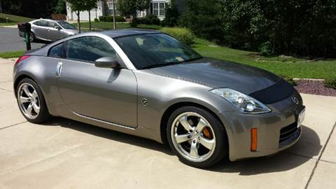 2008 Nissan 350Z for sale at AVAZI AUTO GROUP LLC in Gaithersburg MD