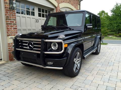 2010 Mercedes-Benz G-Class for sale at AVAZI AUTO GROUP LLC in Gaithersburg MD