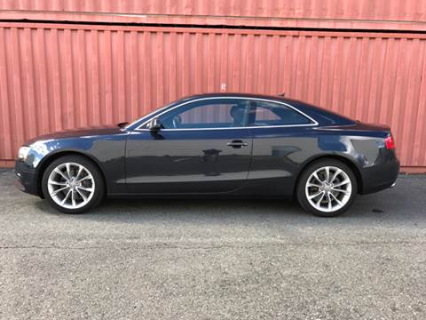 2013 Audi A5 for sale at AVAZI AUTO GROUP LLC in Gaithersburg MD