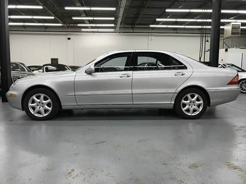 2004 Mercedes-Benz S-Class for sale at AVAZI AUTO GROUP LLC in Gaithersburg MD