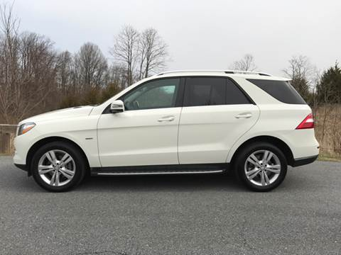 2012 Mercedes-Benz M-Class for sale at AVAZI AUTO GROUP LLC in Gaithersburg MD