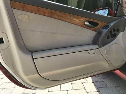 2003 Mercedes Benz Sl Class Sl 500 2dr Convertible In