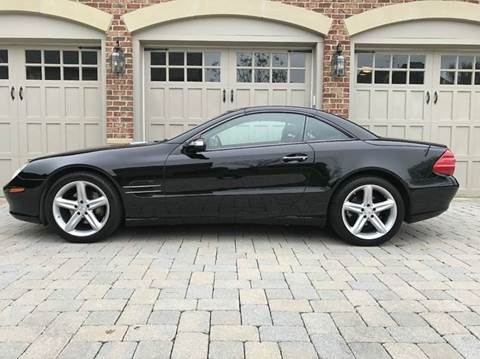 2006 Mercedes-Benz SL-Class for sale at AVAZI AUTO GROUP LLC in Gaithersburg MD