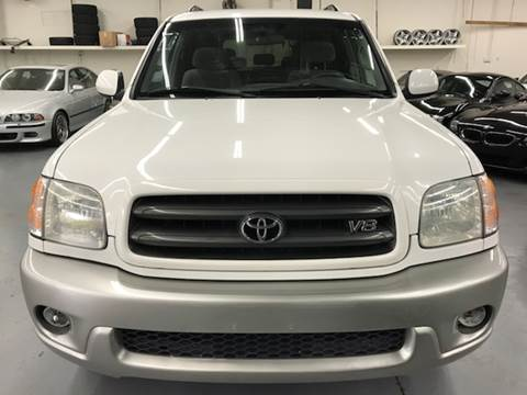 2001 Toyota Sequoia for sale at AVAZI AUTO GROUP LLC in Gaithersburg MD